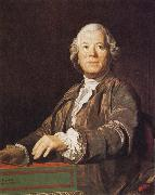 Joseph Siffred Duplessis Portrait of Christoph Willibald Gluck oil painting artist